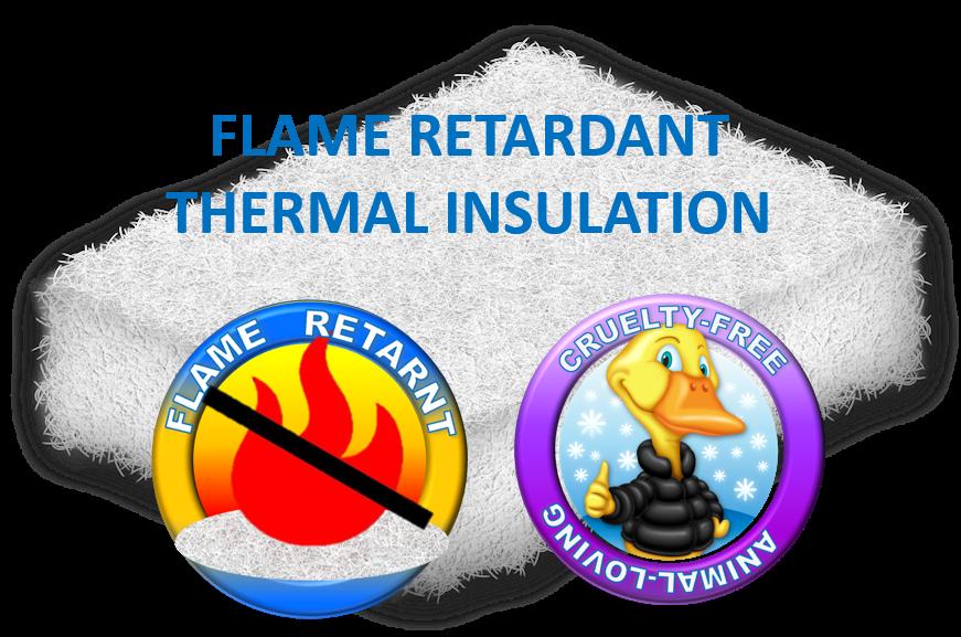 Flame retardant thermal insulation